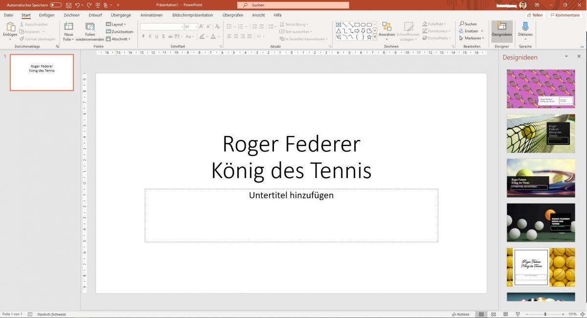 Designideen, Office 365, Microsoft 365