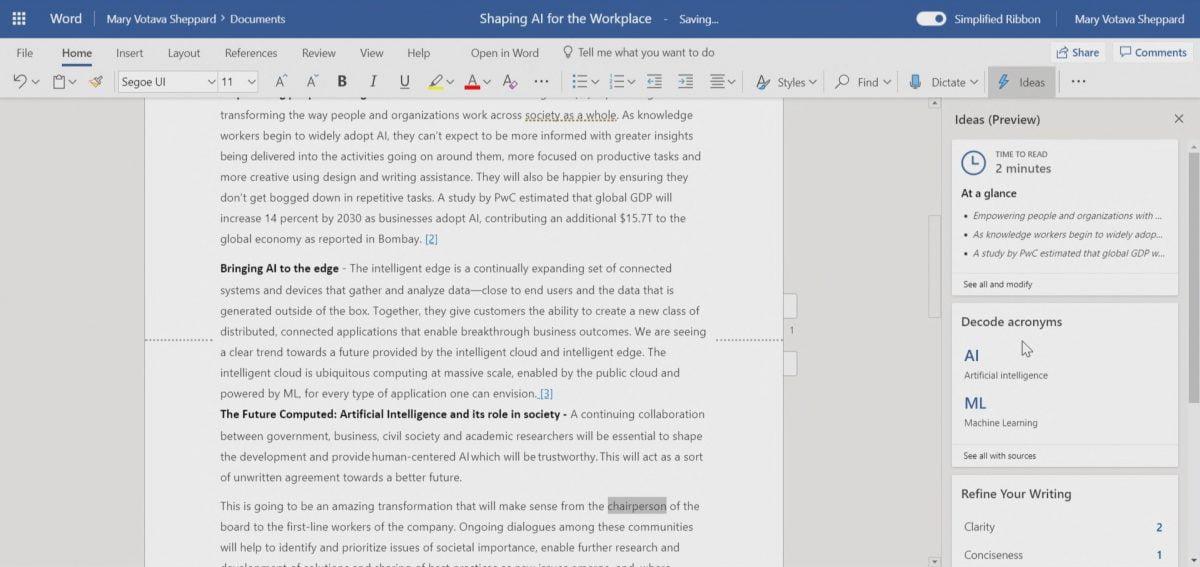 Office 365, Microsoft 365, Microsoft Word