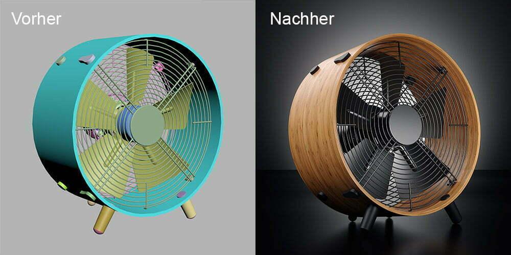Rothenbühler Visualisierungen vorher und nachher