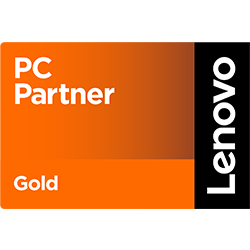 Logo Lenovo Gold Partner in Digitalisierung & Cloud Lösungen