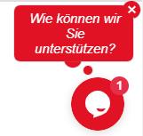 SME Digitalisation, chat function on the website