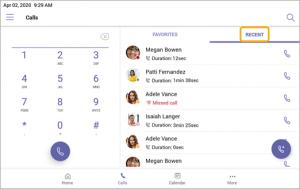 Microsoft Teams Telephony user